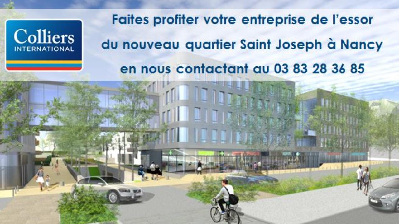 Nouvelle implantation de l'enseigne Made in France à Nancy dans un quartier en plein essor, le site « Saint-Joseph »